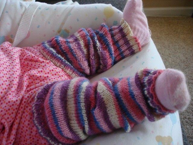 baby leg warmers knitting pattern KNITTING PATTERNS LEG WARMERS   FREE KNIT...