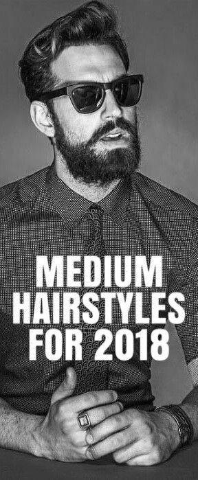 MEDIUM HAIRSTYLE FOR MEN  #hairstyles