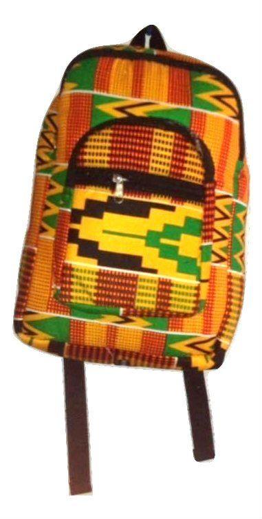 Beautiful Rucksack/satchel/backpack, Kente Cloth