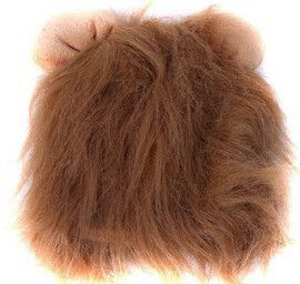 Funny Cute Lion's Mane Cat Hat cat's toy like lion mane hat Stuffed Plush Toy Lion's Mane Hat for Cats YL672609