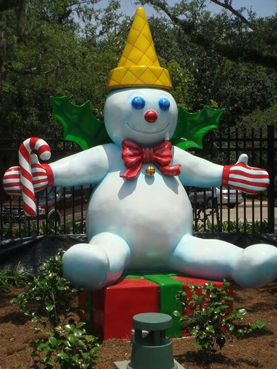 Mr Bingle~located at New Orleans Putt in City Park