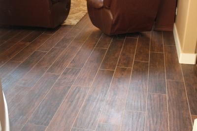 Style Selections Natural Timber Chestnut Glazed Porcelain