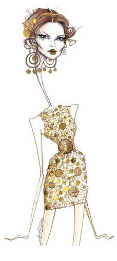 Jamie Lee Reardin - Fashion illustration for  Dolce & Gabbana
