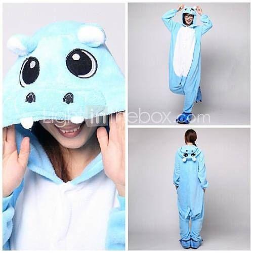 ffff2a7cd5610   34.99  Déguisement Combinaison Adulte Hippopotame polaire Pyjamas  Kigurumi pour Homme et Femme Bleu Noël Halloween Carnaval Animal Cosplay  Costumes ...