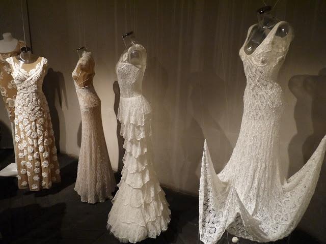Dresses made in Haapsalu shawl technique by Kristina Viirpalu