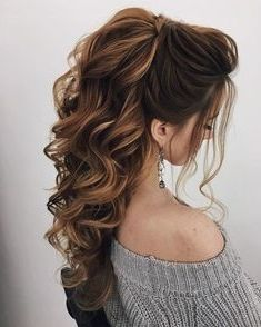 40 Stunning Prom Hairstyle Ideas in 2019 #hairstyleideas 40 Stunning Prom Hairstyle Ideas in 2019, Prom is your night to slay, but there's a chance you're still seriously debating about what to do with your luscious locks. Well, we're here to solve ..., Prom Hairstyle