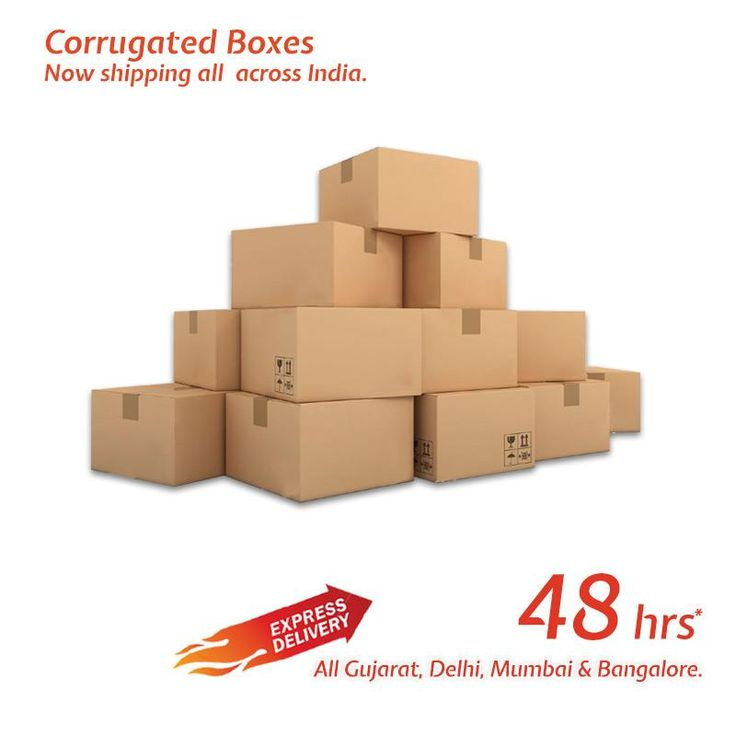 Buy Plain Corrugated Box Online @ Packingsupply. Free Shipping on Qualified Order.