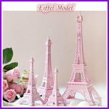 Nuevo estilo paris metal torre eiffel decoración de la boda modelo tour eiffel 18 cm europa home decor amor aficiones y artesanías(China (Mainland))