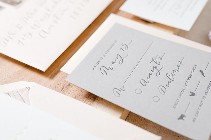 Custom southwest wedding invitation suite, hand lettering and letterpress by Paper & Honey ®️️/ www.paperandhoney.com / heirloom quality wedding stationery suites serving Detroit, Ann Arbor, Grand Rapids Michigan and worldwide (photo by Andrea Pesce Photography)
