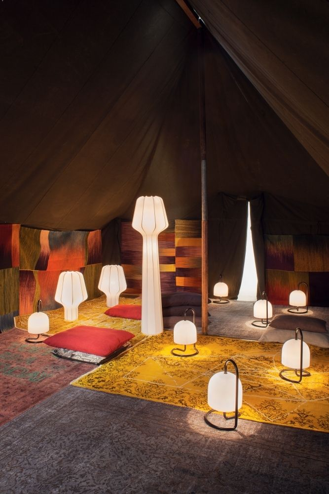 Atelier Pfister Collection 2013, Watt lamps by This Weber and Mon lamp by Colin Schaelli