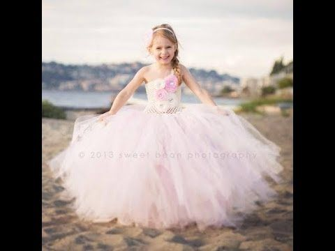 How to make a beautiful yet simple long tutu dress!!! (for the little girls possibly)
