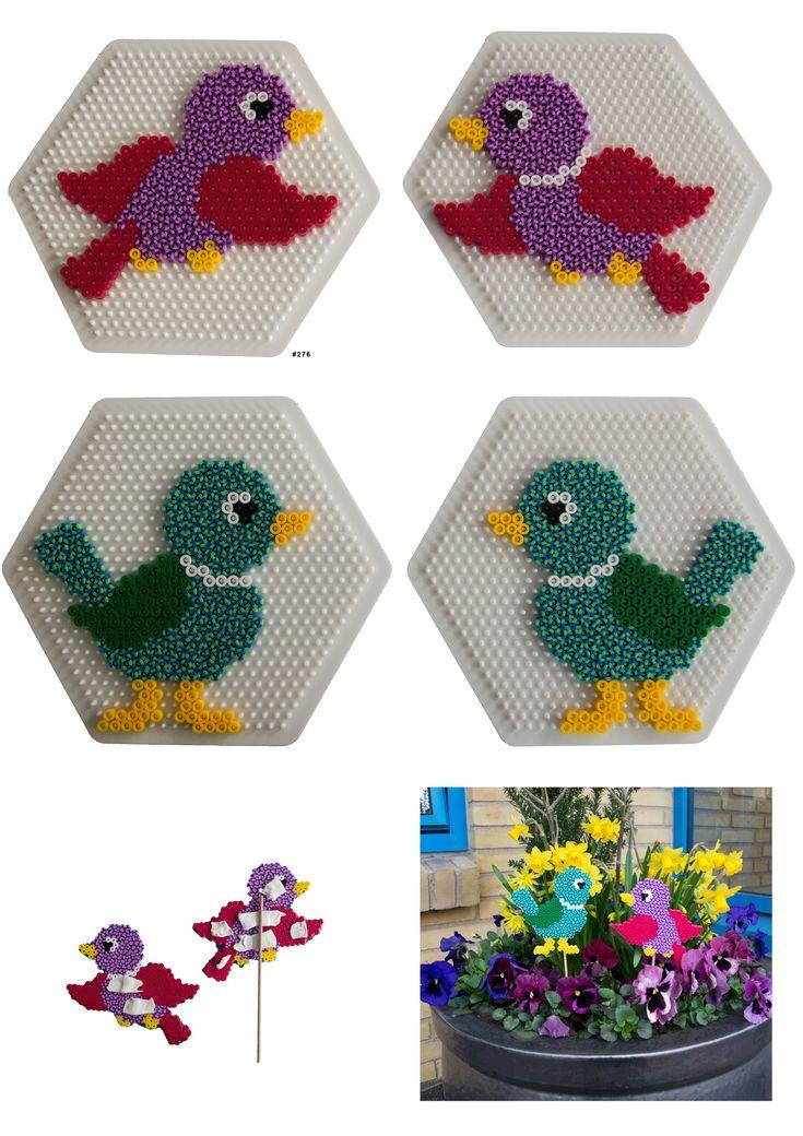 Birds - Hama perler pattern
