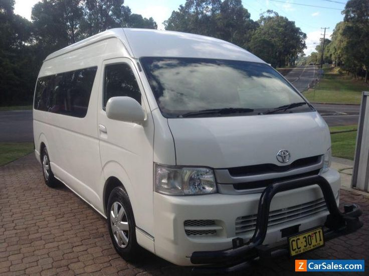 Toyota Hiace Van/Minibus MY 2006 with Wheelchair hoist #toyota #hiace #forsale #australia