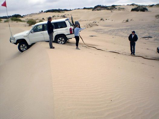 4WD learn how to drive