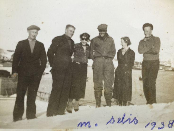 """Selis""of Tromsø in 1938.From my Fathers.Hans Adrian Haugens,Malangen,Sealers Photos."
