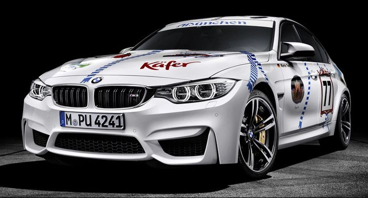 "BMW Built A One-Off M3 ""Münchner Wirte"" For Oktoberfest"