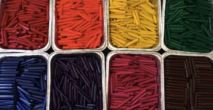 What happens to restaurant crayons? This dad found out and decided to do something about it. - One person's trash is another person's great idea.
