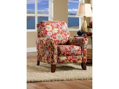 Stacy Furniture. Recliner. Southern Motion Living Room Hi-Leg Recliner 1603 Solarium