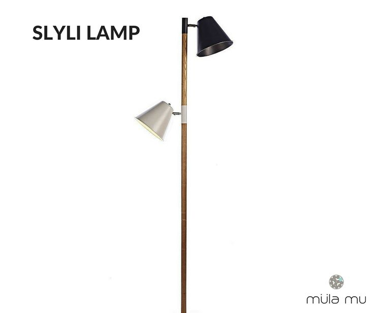 The SLYLI brings veracity to light more than one spot. Its functionality makes it a popular choice for those looking for clean lines.  Crafted from solid ash wood.  *Price does not include light bulbs. http://www.mulamu.com/product/slyli-lamp/