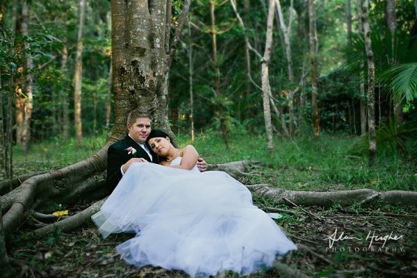 Sunshine Coast Wedding photographers at Wirreander Park...