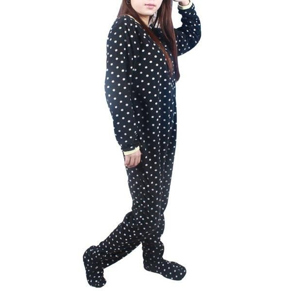 Get it now Chic Polka Dot Pr... Order http://shop-from-phone.myshopify.com/products/chic-polka-dot-printed-fleeced-one-piece-footed-pajamas-for-women?utm_campaign=social_autopilot&utm_source=pin&utm_medium=pin