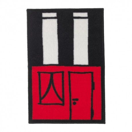 HEMMAHOS Dywan, czerwony, 50x75 cm, dywanik ikea, 603.323.51, dywan do pokoju dziecięcego, 902.726.66, dywany ikea, ikea nasch olsztyn