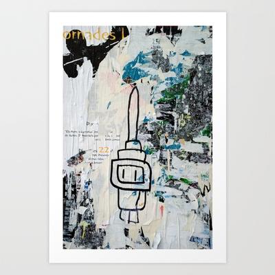 Els horrors lucratius Art Print by Plasmodi - $16.00