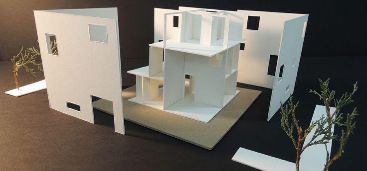 Kazuyo Sejima, House in a Plum Grove, Study Model
