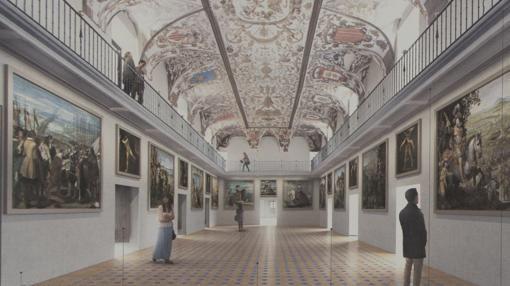 Norman Foster ganó el concurso de ampliación para el Salón de Reinos porque su proyecto valoraba mejor que ningún otro el espacio histórico del palacio de Felipe IV, lleno de claves para la España y la Europa actuales.