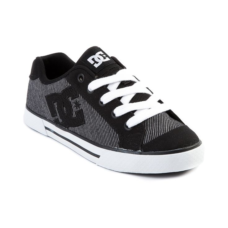 Shop for Womens DC Chelsea Skate Shoe in Black White at Journeys Shoes.