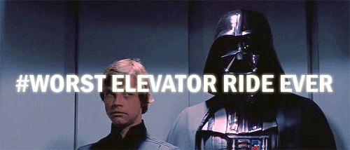 Worst elevator ride ever.