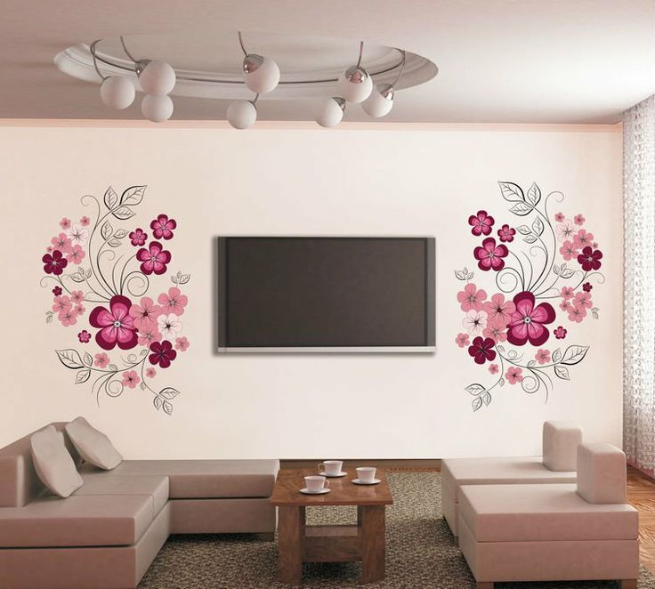 Living Quarters Gorgeous Blooms Happy Floral Wall Bon Ton Wall Art