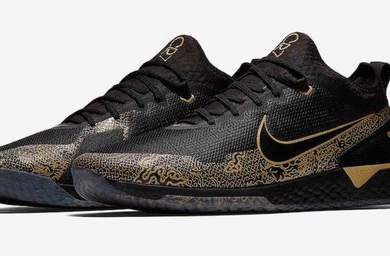 online store 1c538 4b6f0 Official Images  Nike React FC CR7 Black Gold Cristiano Ronaldo and Nike  continue their partnership