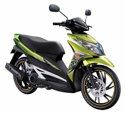 43# Suzuki Hayate, Produk Kredit Motor DP Murah Jakarta