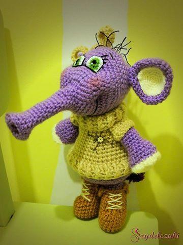 Słonik/ Crochet elephant