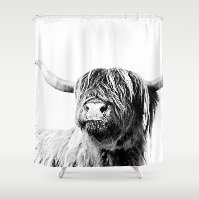 Highland Cattle Frida Shower Curtain By Monikastrigel Society6