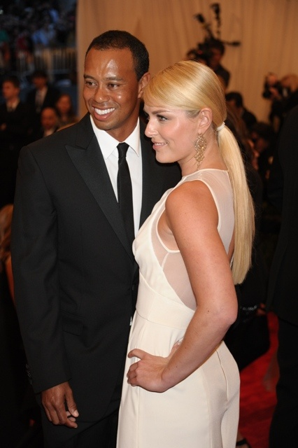 Tiger Woods, Lindsey Vonn attend MET Ball in NYC