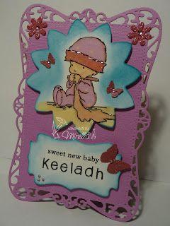 Baby Girl card #LOTV