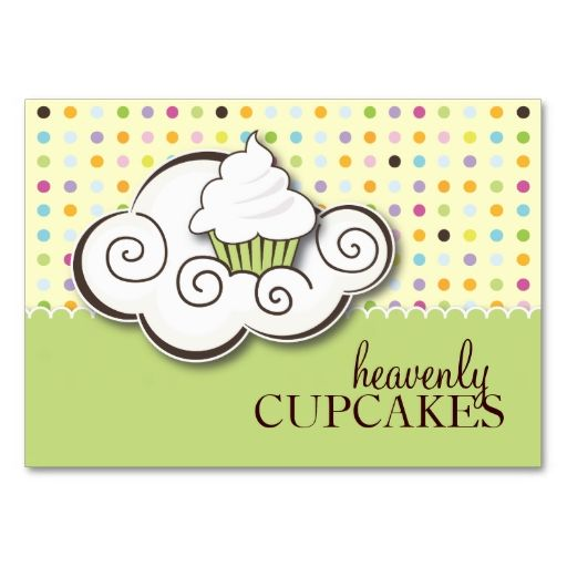 100 Cupcake Gift Vouchers Business Cards. I love this design! It is available for customization or ready to buy as is. All you need is to add your business info to this template then place the order. It will ship within 24 hours. Just click the image to make your own!