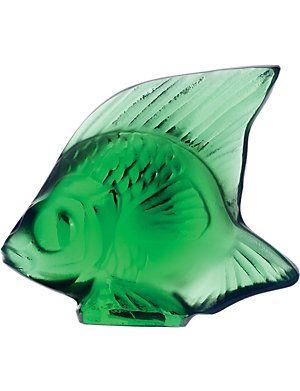 LALIQUE Fish crystal ornament