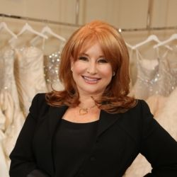 Renee Strauss from TLC's Brides of Beverly Hills gives tips for selecting the perfect dress.  (Photo via TLC.Discovery.com)