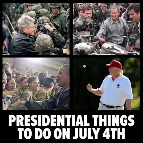 Presidential Things to do on July 4th