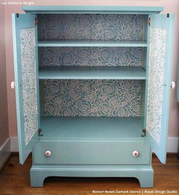 1000+ Images About Stenciled And Painted Furniture On