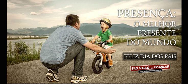 FELIZ DIA DOS PAIS!!  Bora sair de casa para passear, pessoal! O São Paulo para Crianças preparou um guia com mais de 100 passeios para você curtir o Dia dos Pais do melhor jeito: em família! Clique aqui e escolha seu #passeio: http://goo.gl/6zemDz