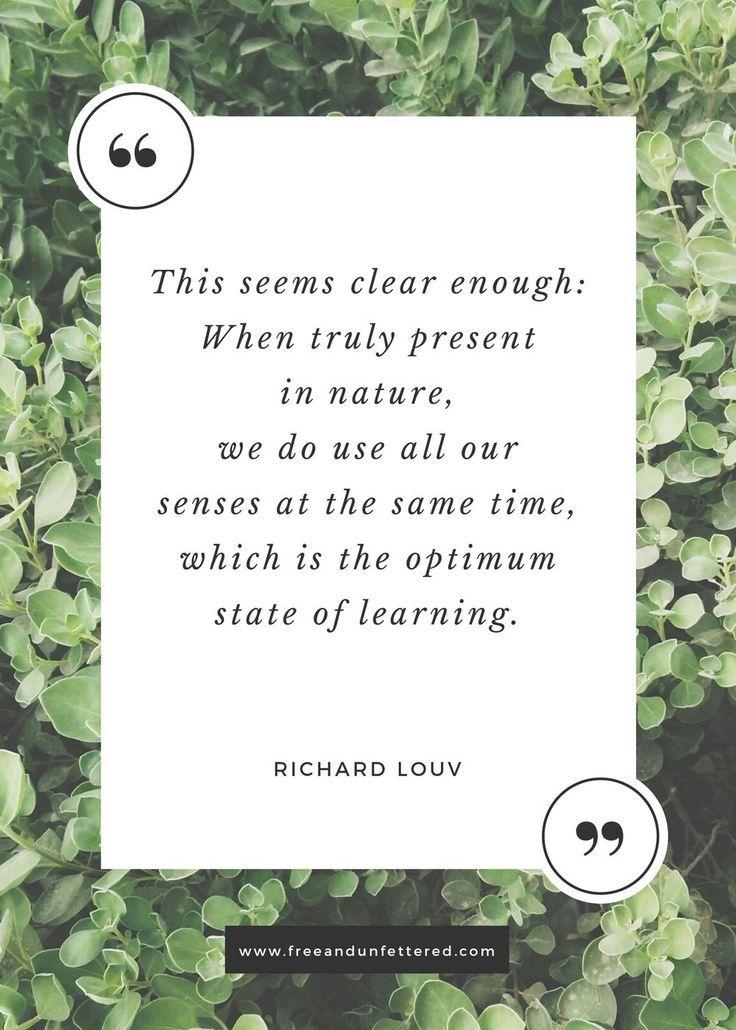 Montessori: On Outside Exploration