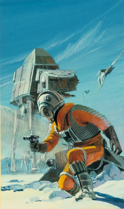 Ralph McQuarrie's Ultra-Rare Cover For The Empire Strikes Back Novelization Is Gorgeous