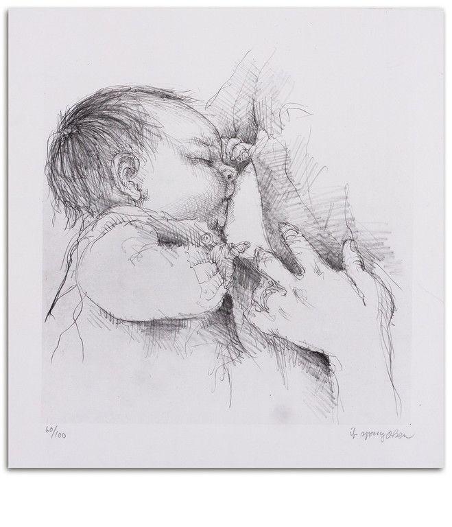 Ib Spang Olsen baby tegninger