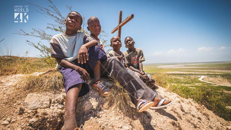 Haiti's communal burial ground,