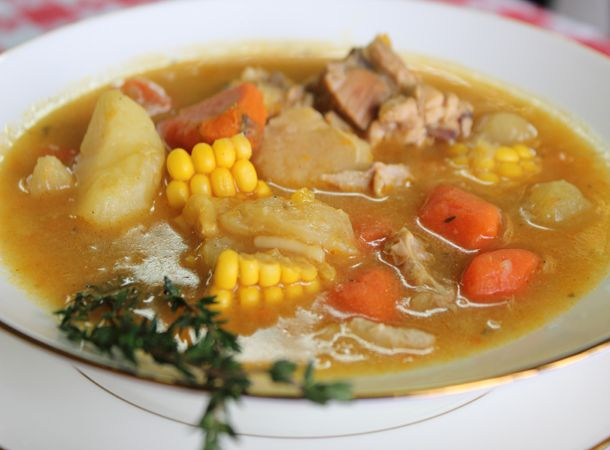 how to cook jamaican chicken foot soup