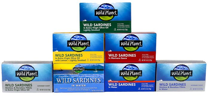 Sardines from Wild Planet. Maybe not on an airplane, but this is some of the best travel food.